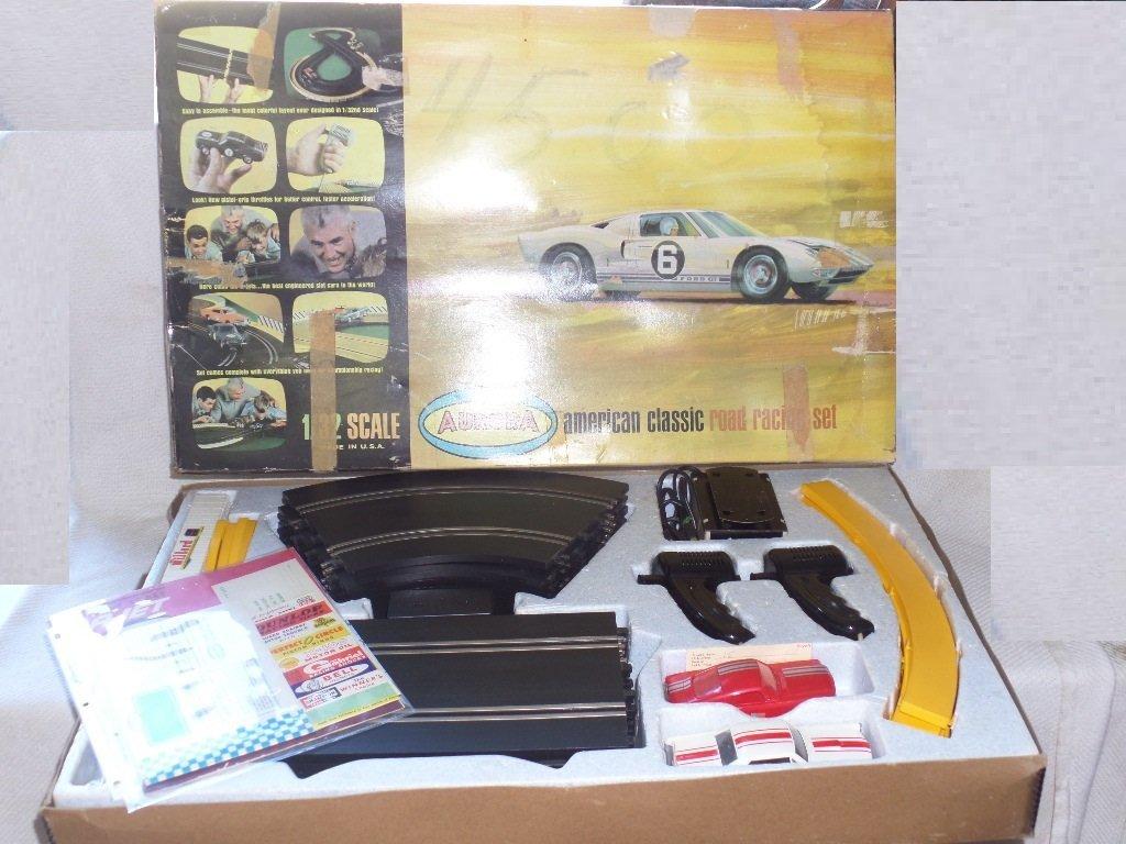 1965 Aurora American Classic Road Racing Slot Car Set
