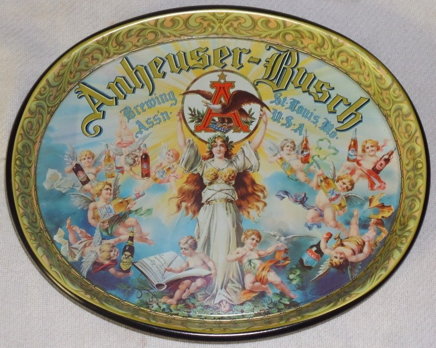 Anheuser-Busch Brewing Serving Tray