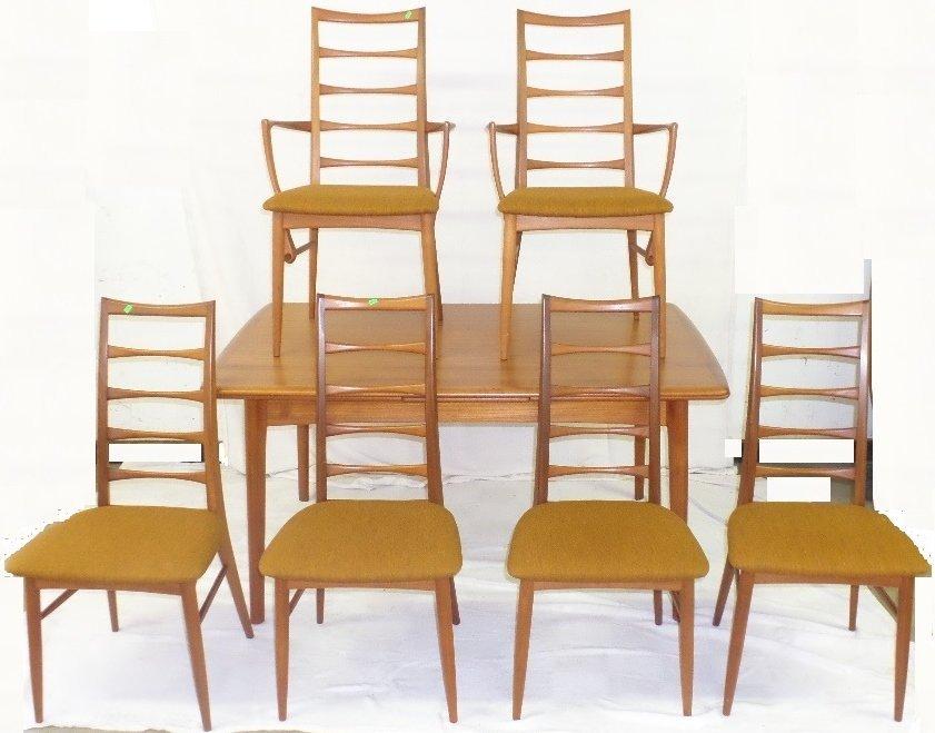 Koefoeds Hornslet Mid Century Modern Dining Table