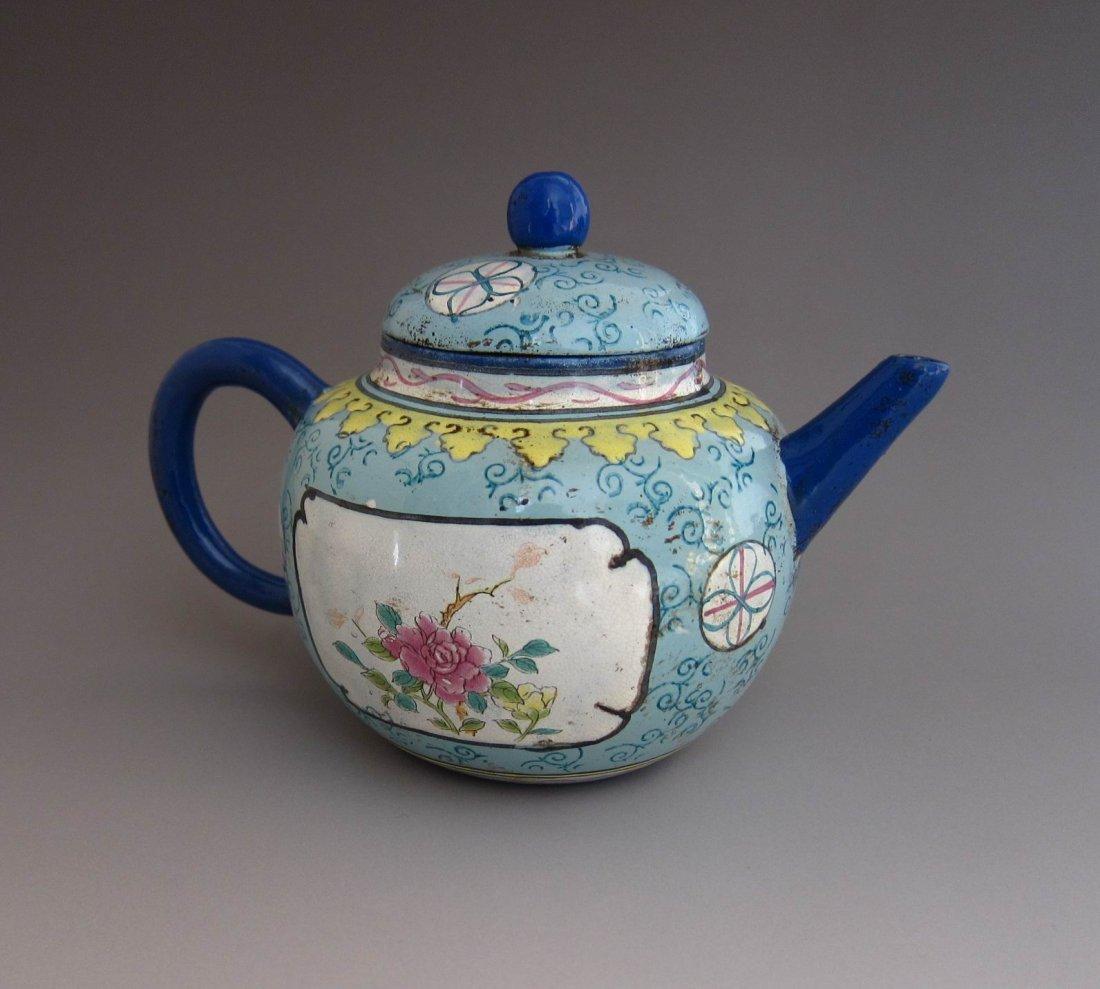 Chinese Antique Yixing Zi Sha Clay Teapot