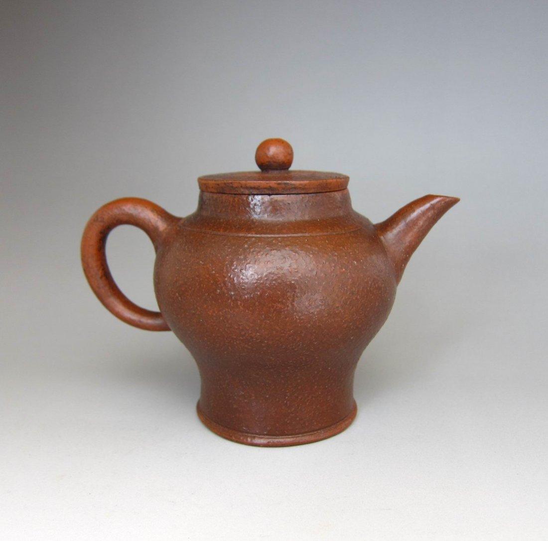 Chinese Yixing Zi Sha Clay Teapot