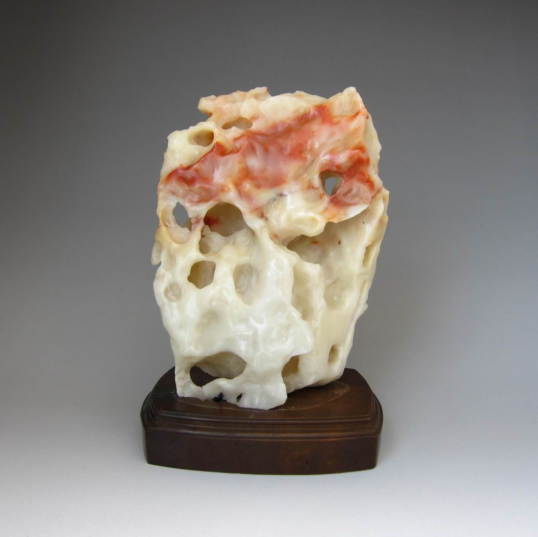 A Large Chinese Antique Finely  Shoushan  TAI HUI Stone