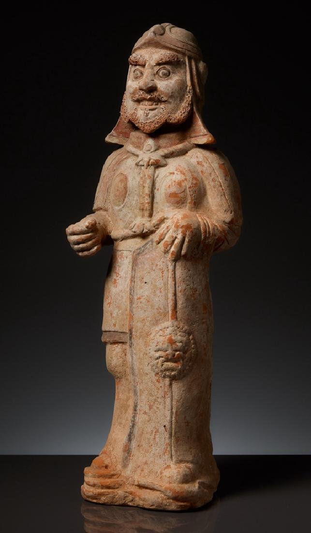 FIGURE OF A STANDING GUARDIAN