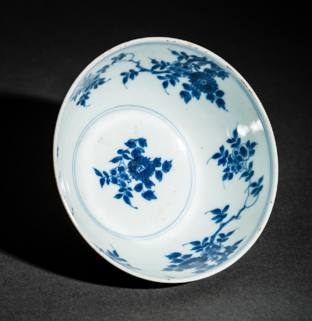 BOWL WITH BLOSSOMS - 4