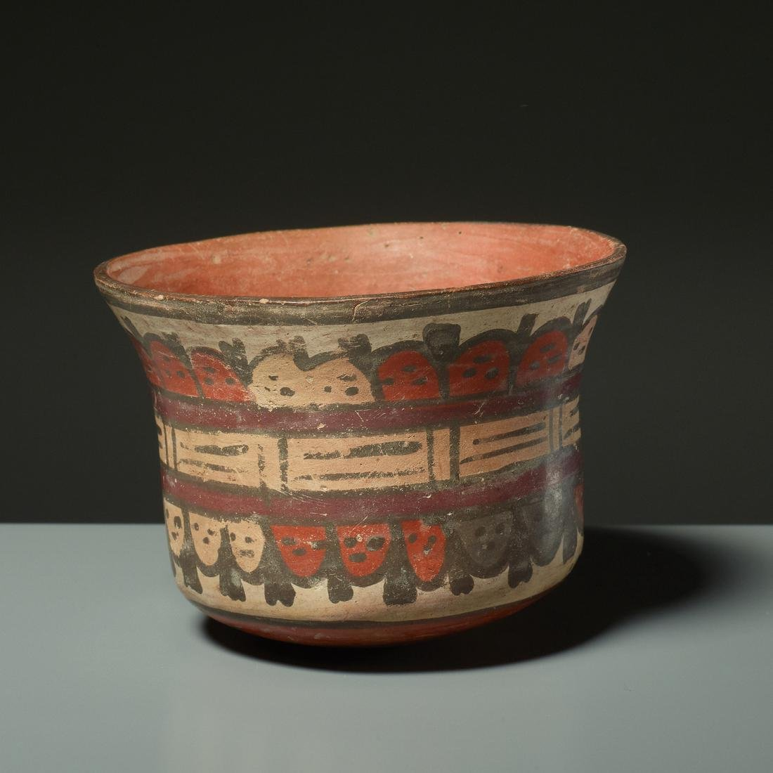CUP WITH TROPHY HEADS - 2