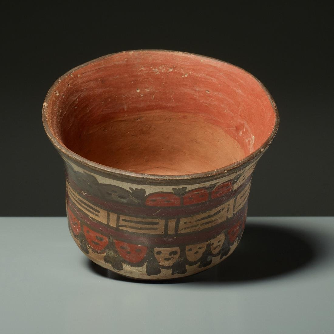 CUP WITH TROPHY HEADS - 4