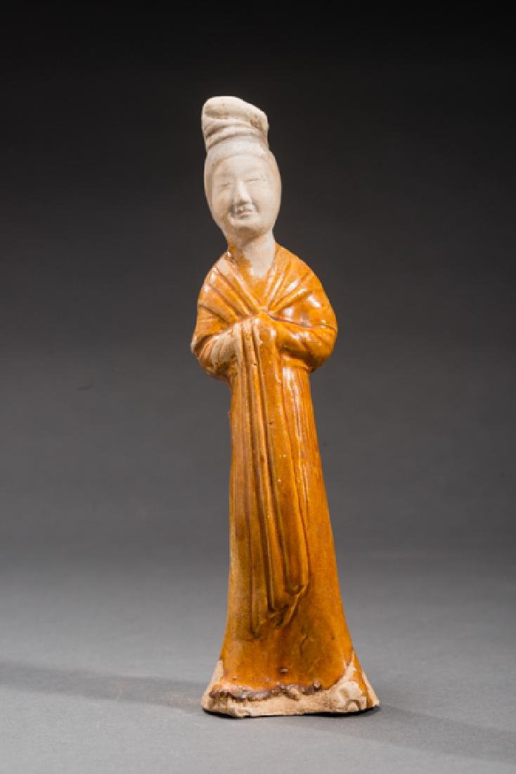 FIGURINE OF A COURTLY LADY