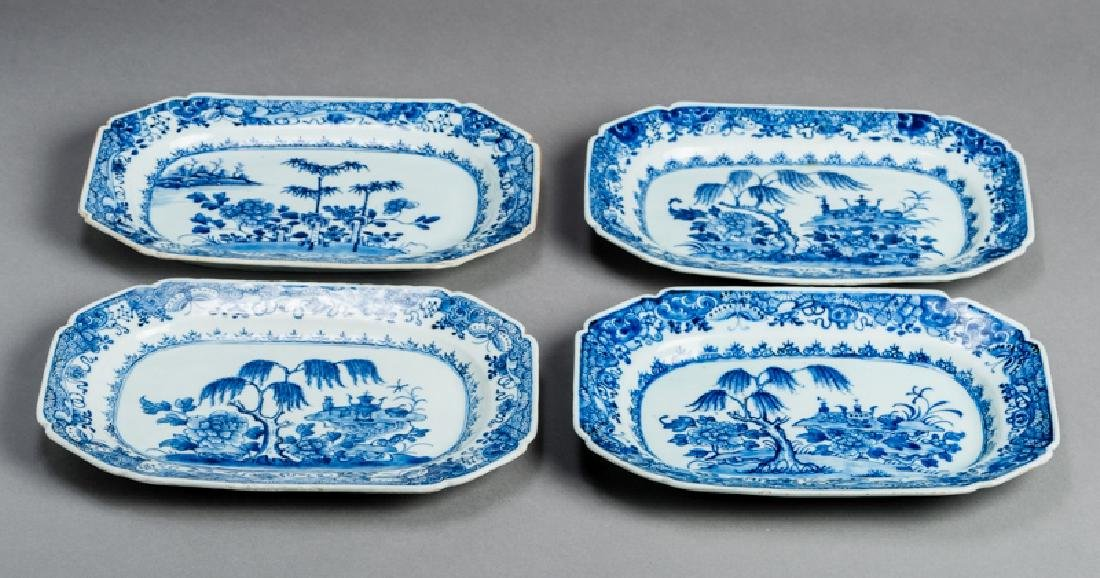 FOUR FLORAL DECORATIVE PLATES - 2