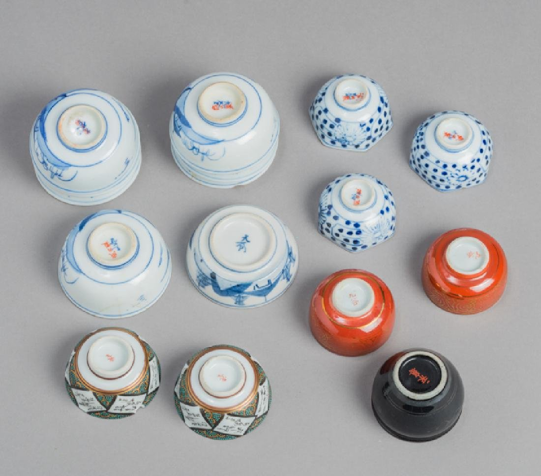 A MIXED LOT OF VARIOUS SMALL JAPANESE-CHINESE PORCELAIN - 3