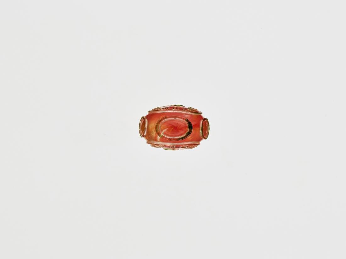 A GLASS SNUFF BOTTLE 1770-1830 - 6