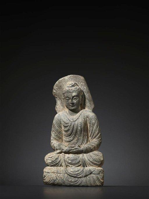 A Gandhara Statue Of Buddha May 11 2019 Galerie Zacke In Vienna