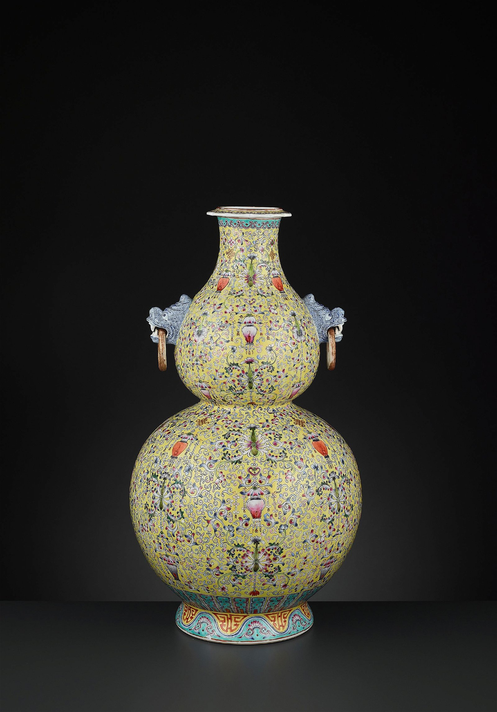 A DOUBLE GOURD VASE, HULUPING