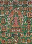 A THANGKA OF MARICHI, TIBET, 18TH CENTURY