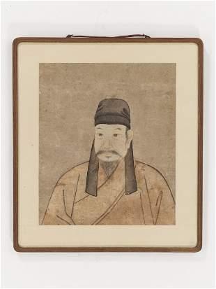 AN 'ANCESTOR PORTRAIT', KOREAN SCHOOL, JOSEON DYNASTY