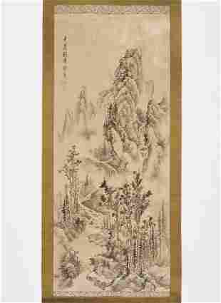 MOUNTAIN LANDSCAPE', QING DYNASTY