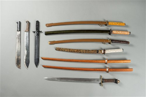 Japanese Weapons & Armor