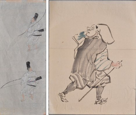 TWO SKETCHES FROM THE JAPANESE SCHOOL