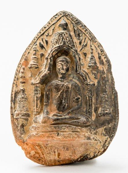 VOTIVE RELIEF DEPICTING BUDDHA