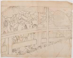 KITAGAWA UTAMARO (APPROX. 1753–1806): SUMMER FESTIVAL