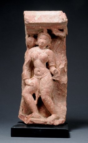Stele With A Yakshini
