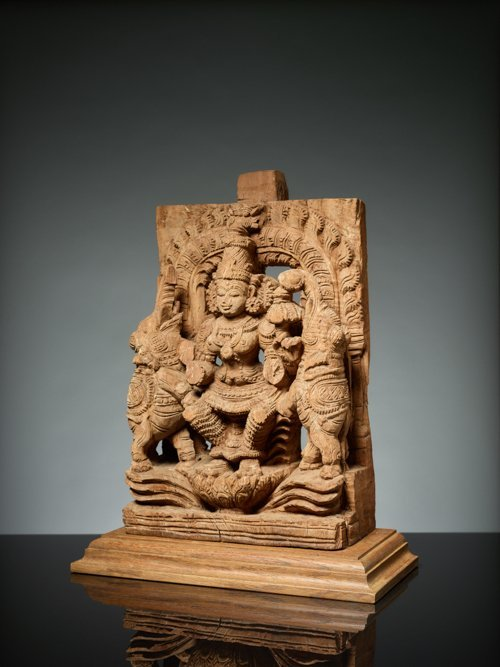 GODDESS LAKSHMI BETWEEN ELEPHANTS - 3