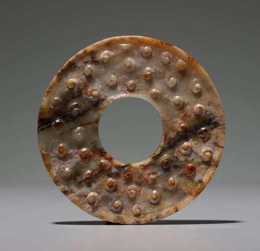 RING WITH INCISED SPIRALS