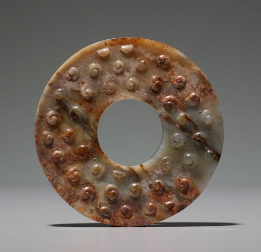 RING WITH INCISED SPIRALS - 2
