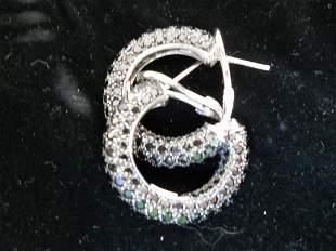 14K Medium Hoops Earrings