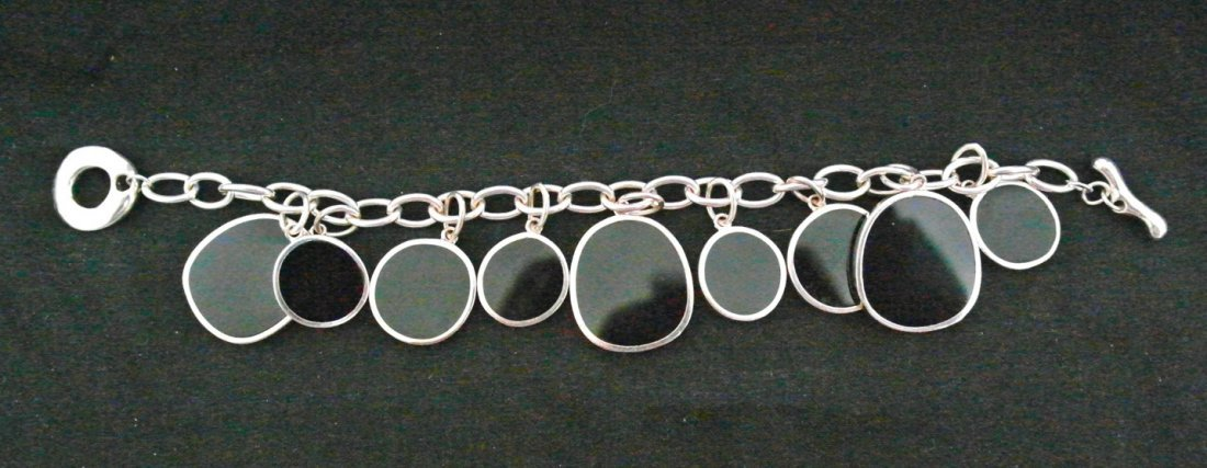 "8"" .925 Sterling Silver Ladies Bracelet"