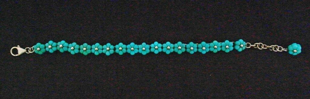 """8"""" .925 Sterling Silver Ladies Bracelet"""