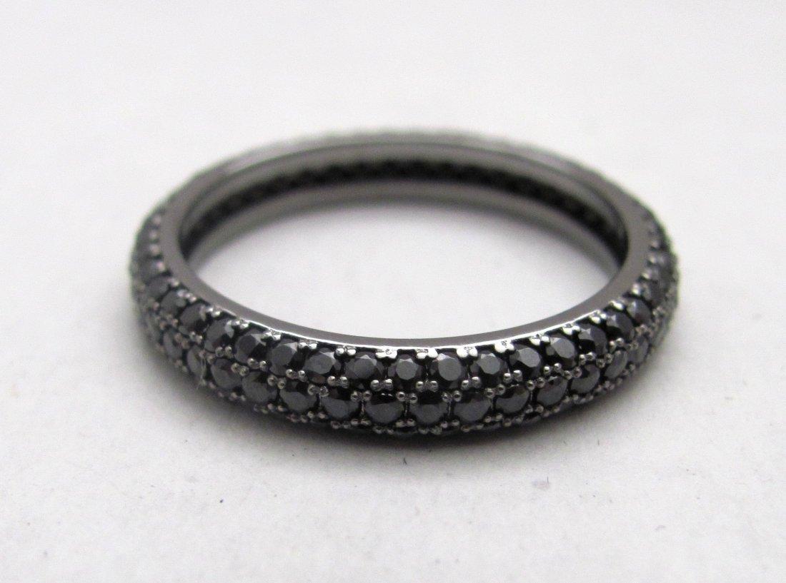 .925 Sterling Silver Gemstone Ladies Ring - Size 10