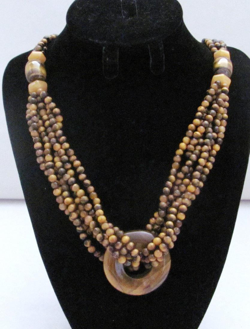 "30"" Tiger Eye Ladies Necklace"