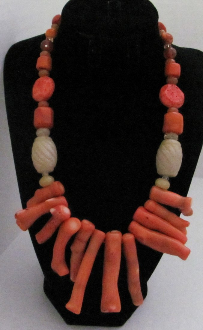 Multicolor Gemstones .925 Sterling Clasp Necklace