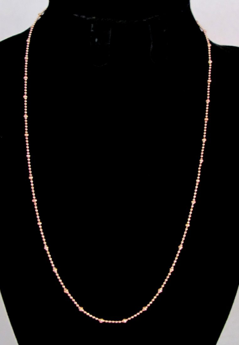 """18"""" .925 Sterling Silver Ladies Necklace"""
