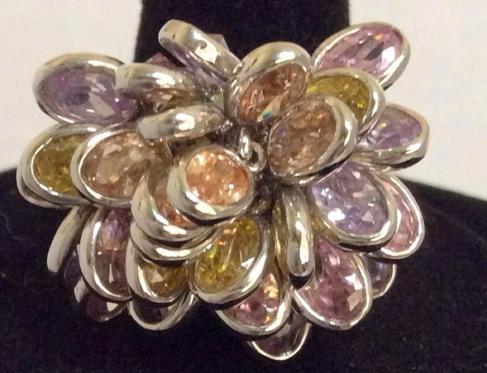 Joan Rivers Multicolor Custom Ring - Size 9