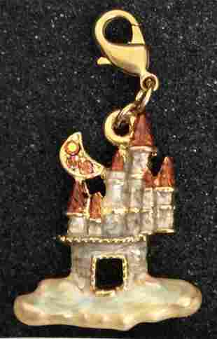 Kirks Folly Gold Tone Magic Castle Charm