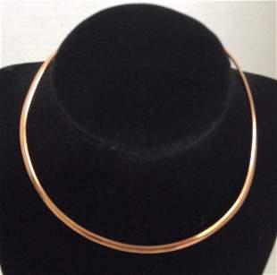 Barse Thai Gold Tone Custom Necklace