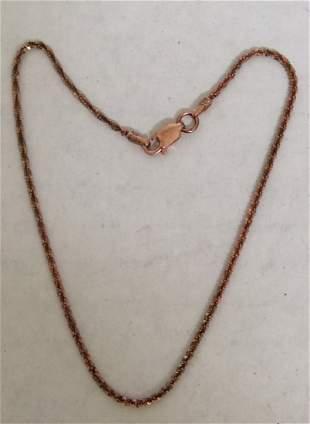 .925 Sterling Gold Tone Custom Bracelet
