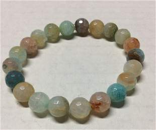 Pastel Colors Gemstones Stretch Bracelet