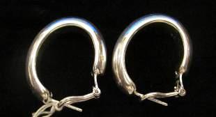 .925 Sterling Silver Ladies Earrings
