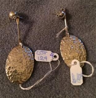 Sterling Silver .925 Oval Earrings