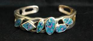 .925 Sterling Silver Cuff Bracelet