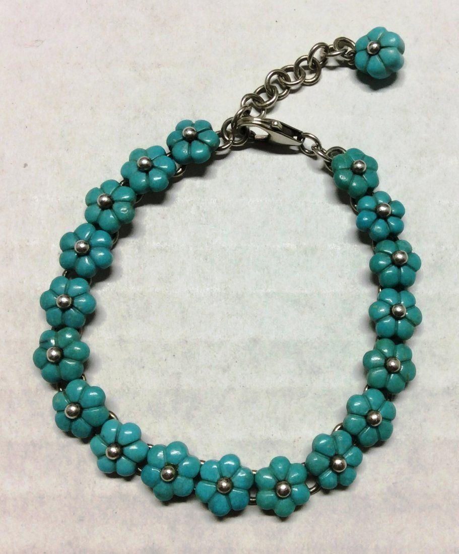 .925 Sterling Silver Ladies Bracelet