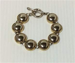 Gold Tone & Silver Tone Bracelet