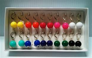 10 Set Multicolor Earrings