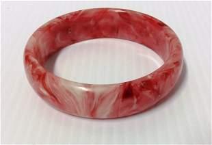 White & Red Bracelet