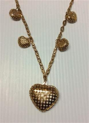 """26"""" Heart Charms Necklace"""