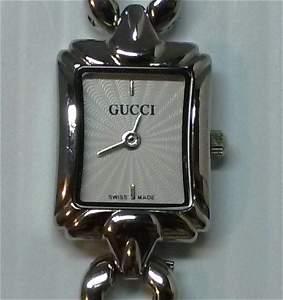 Gucci Silver Tone Women Watch - Swiss Made