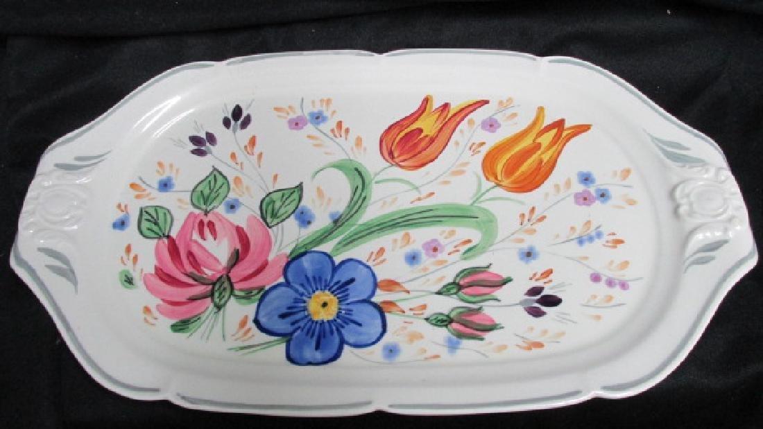Blue Ridge China Pottery Oblong Tray