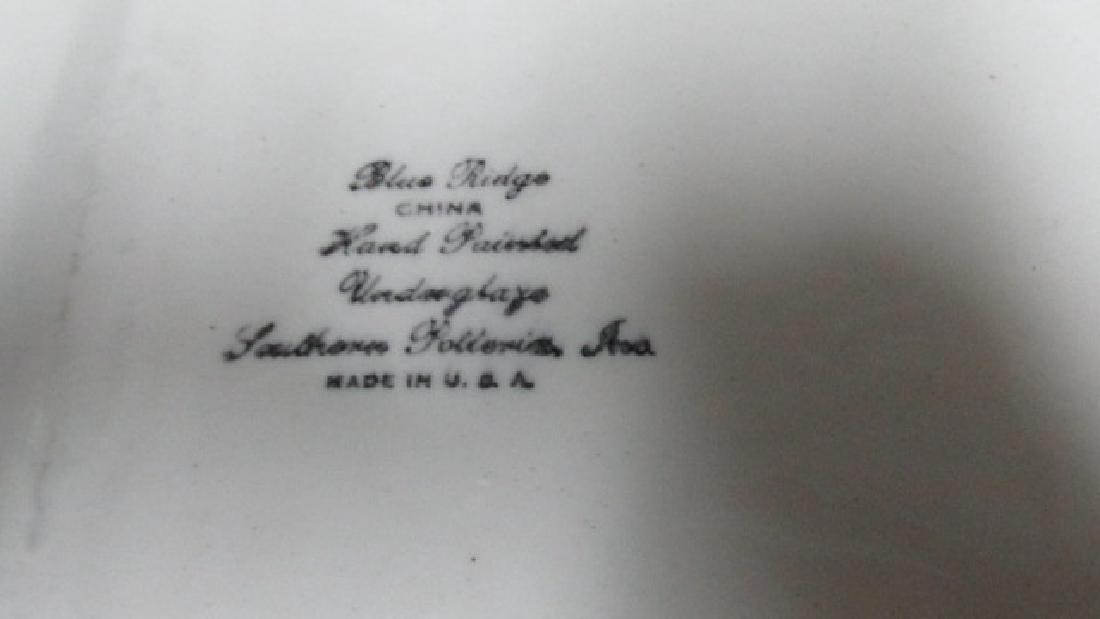 Blue Ridge China Pottery Oblong Tray - 2